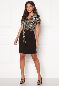 VERO MODA Hot Nine HW Pencil Skirt Black Bubbleroom.dk