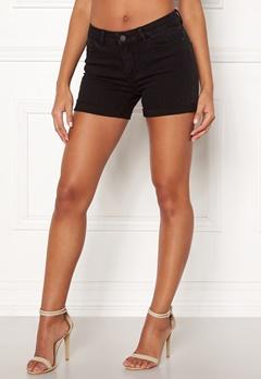 VERO MODA Hot Seven Fold Shorts Black Bubbleroom.dk