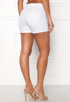 VERO MODA Hot Seven Fold Shorts Bright White Bubbleroom.dk