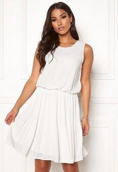 VERO MODA Jackie SL Short Dress Snow White Bubbleroom.dk