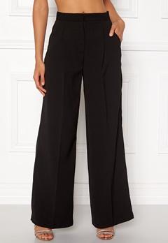 VERO MODA Lanjuli HW Wide Pants Black Bubbleroom.dk