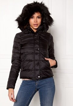VERO MODA Marga Short Down Jacket Black Beauty Bubbleroom.dk