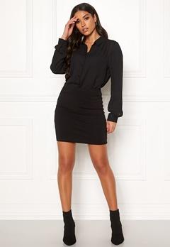 VERO MODA Maxi My Mini Skirt Black Bubbleroom.dk