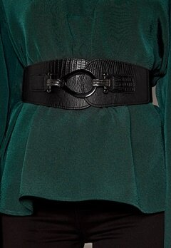 VERO MODA Myra Elastic Waist Belt Black Bubbleroom.dk