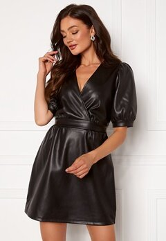 VERO MODA Paulina Short Dress Black bubbleroom.dk