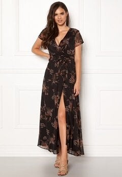 VERO MODA Queen S/S Maxi Dress Black Bubbleroom.dk