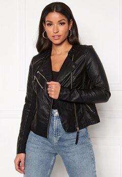 VERO MODA Riafavo Coated Jacket Black Bubbleroom.dk