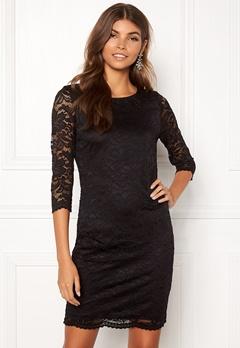 VERO MODA Sandra 3/4 Lace Dress Black Bubbleroom.dk