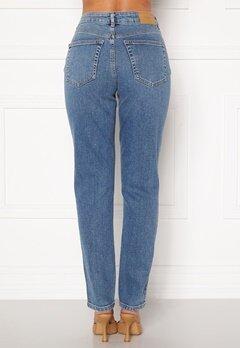 VERO MODA Sara Relaxed Jeans Medium Blue Denim Bubbleroom.dk