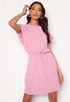 VERO MODA Sasha Bali SS Short Dress Pastel Lavender<br>  Bubbleroom.dk