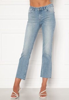 VERO MODA Sheila Kick Flare Jeans Light Blue Denim Bubbleroom.dk