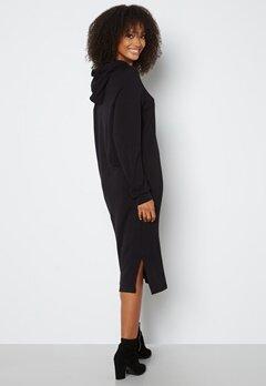 VERO MODA Silky L/S Slit Dress Black bubbleroom.dk