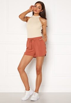 VERO MODA Simply Easy Nw Shorts Wvn Ga Marsala Bubbleroom.dk