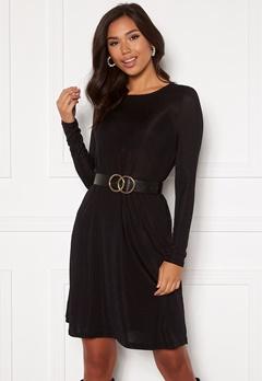 VERO MODA Sparkle L/S Dress Black lurex Bubbleroom.dk