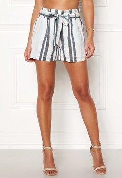 VERO MODA Tavi NW Shorts Cool Blue Stripe Bubbleroom.dk