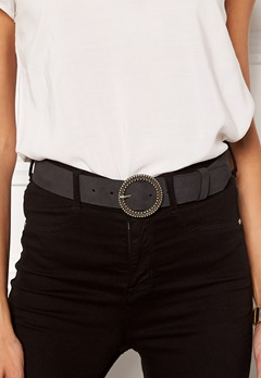VERO MODA Trona Leather Jeans Belt Black Bubbleroom.dk