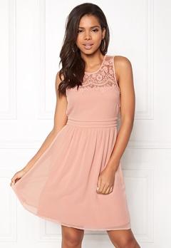 VERO MODA Vanessa SL Short Dress Misty Rose Bubbleroom.dk