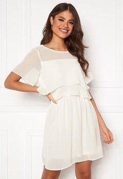VERO MODA Vida SS Short Dress Snow White Bubbleroom.dk
