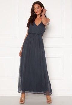 VERO MODA Wonda Wrap Maxi Dress Ombre Blue Bubbleroom.dk