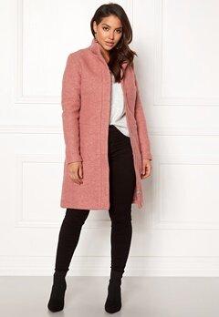 VILA Alanis Coat Ash Rose Bubbleroom.dk