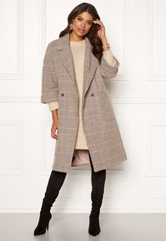VILA Amoro Wool Sleeve Coat Puce Bubbleroom.dk
