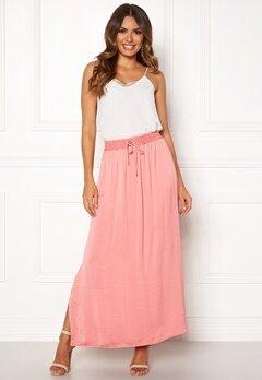 VILA Cava Maxi Skirt Brandied Apricot Bubbleroom.dk