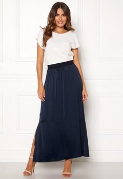 VILA Cava Maxi Skirt Total Eclipse Bubbleroom.dk