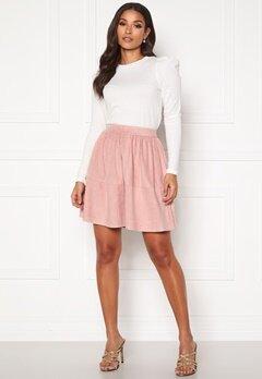 VILA Choose HW Skirt Pale Mauve Bubbleroom.dk