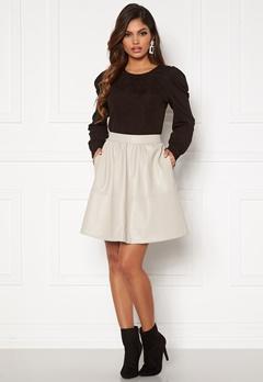 VILA Choosy HW Skirt Dove Bubbleroom.dk