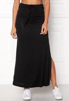 VILA Deana Maxi Skirt Black Bubbleroom.dk