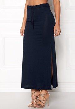 VILA Deana Maxi Skirt Total Eclipse Bubbleroom.dk