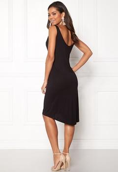 VILA Deana S/L Dress Black Bubbleroom.dk