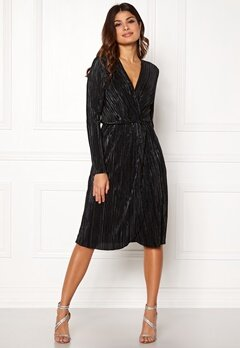 VILA Frances New Knot Dress Black Bubbleroom.dk
