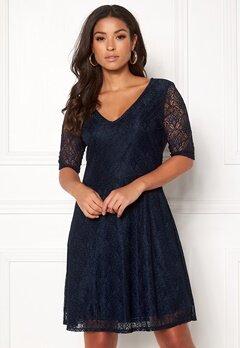 VILA Frej 2/4 Short Dress Total Eclipse Bubbleroom.dk