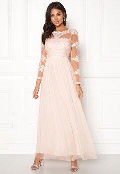 VILA Georgious Maxi Dress Peach Blush Bubbleroom.dk