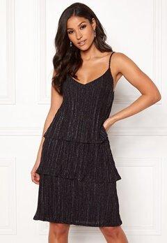 VILA Glitto Strap Dress Black Bubbleroom.dk