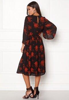 VILA Jelana 3/4 Sleeve Dress Black Bubbleroom.dk