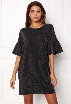 VILA Jomine T-Shirt Dress Black Bubbleroom.dk