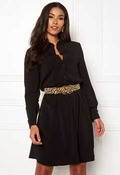 VILA Laia Shirt Dress Black Bubbleroom.dk
