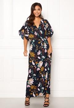 VILA Lasha Adra Maxi Dress Total Eclipse Bubbleroom.dk