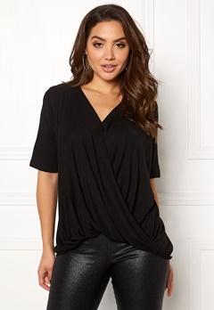 VILA Lolla S/S T-shirt/PB Black Bubbleroom.dk