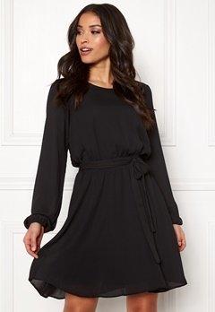 VILA Lucy L/S Dress Black Bubbleroom.dk