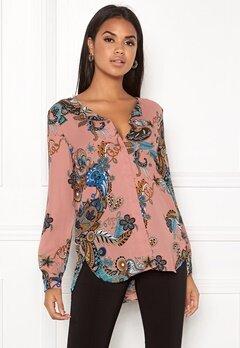 VILA Lucy L/S Shirt Ash Rose Bubbleroom.dk