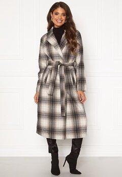 VILA Lulus Wool Coat Simply Taupe : Check Bubbleroom.dk