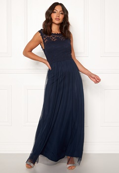 VILA Lynnea Maxi Dress Total Eclipse Bubbleroom.dk