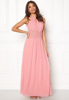 VILA Milina Halterneck Dress Bridal Rose Bubbleroom.dk