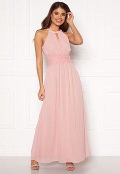 VILA Milina Maxi Dress Pale Mauve Bubbleroom.dk