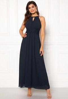 VILA Milina Maxi Dress Total Eclipse Bubbleroom.dk