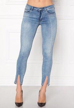 VILA Petal Super Slim Jeans Medium Blue Denim Bubbleroom.dk
