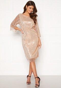 VILA Rama 3/4 Dress Silver Peony Bubbleroom.dk